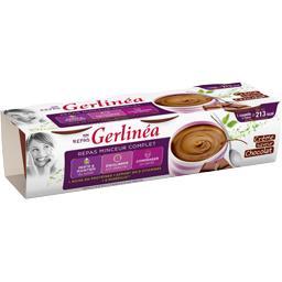 Gerlinéa Gerlinéa Mon Repas - Crème Repas Minceur saveur chocolat les 3 pots de 210 g