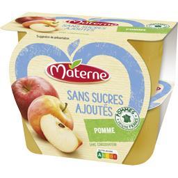 Sans Sucres Ajoutés - Spécialité de pomme