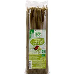 Jardin Bio Jardin bio Spaghetti au quinoa persil ail BIO le paquet de 500 g