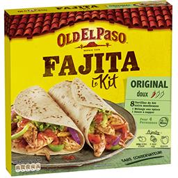 Old El Paso Kit pour Fajitas Original Barbecue