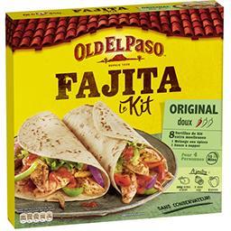 Old El Paso Old El Paso Kit pour Fajitas Original doux la boite de 500 g