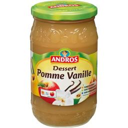 Compote pomme vanille