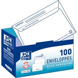 Enveloppe 114x162 auto adhésive précasées Invio