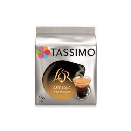 Tassimo Tassimo L'Or - Café Long Classique en dosettes les 16 dosettes de 6,5 g