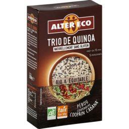 Alter Eco Alter Eco Trio de quinoa BIO & équitable la boite de 350 g