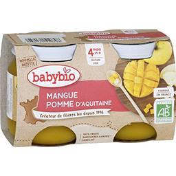 Desserts pomme d'Aquitaine mangue BIO, dès 4 mois