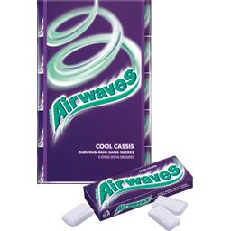 Chewing-gums Cool Cassis sans sucres