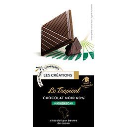 Le Tropical chocolat noir 60% Madagascar