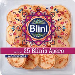 Blini Blini Blinis apéro la barquette de 25 - 125 g