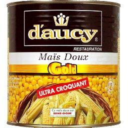 Restauration, maïs doux col ultra croquant sans OGM