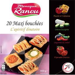 Maxi bouchées assortis L'apéritif Dinatoire, la boite de 20 - 400 g,CLAUDE LEGER,la boite de 20 - 400 g