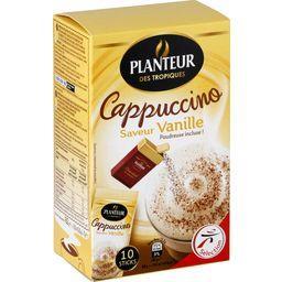 Capuccino saveur vanille