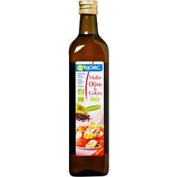 Huile d'olive et colza bio