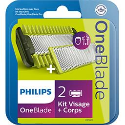 Kit lame One Blade visage et corps