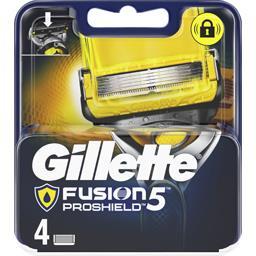 Gillette Gillette Fusion5 proshield lames de rasoir pour homme 4recharges La boîte de 4 lames