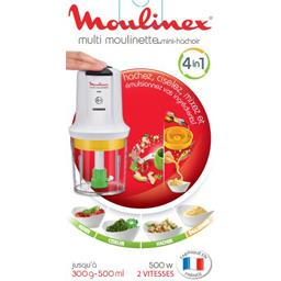 Multi moulinette mini hachoir 4in1