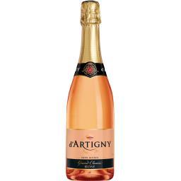 d'Artigny D'Artigny Boisson sans alcool rosé Grand Classic la bouteille de 75 cl