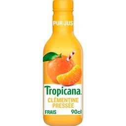 Tropicana Tropicana Pur jus de clémentine pressée la bouteille de 900 ml
