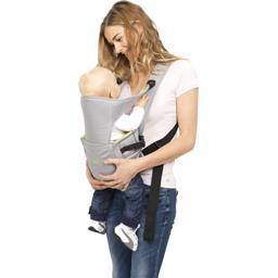 Porte-bébé 2 positions évolutif, 0-6 mois