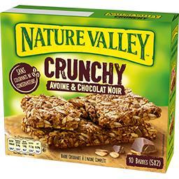 Nature Valley Crunch Avoine Choc 210 g