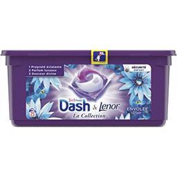 Dash Dash Lessives en capsules envolée d'air La boite de 25lavages