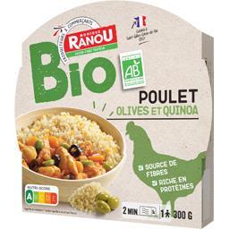 Poulet olives et quinoa BIO