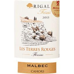 Cahors Les Terres vin Rouges vin Rouge 2015