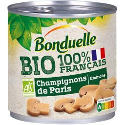 Champignons de Paris émincés BIO