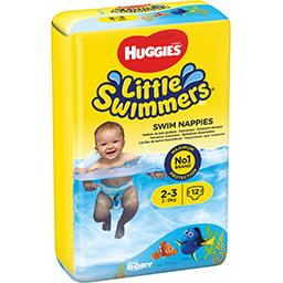 Huggies Huggies Little Walkers - Maillots de bain jetables taille 2/3 : 3-8 kg le paquet de 12 couches