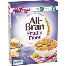 Fruit'n Fibre - Céréales au blé complet All Bran