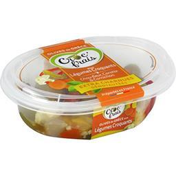 Croc' frais Croc'frais Olives légumes croquants la barquette de 200 g