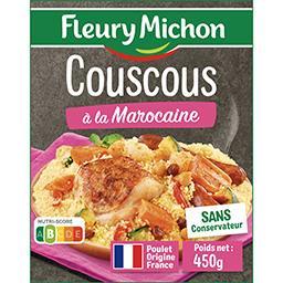 Couscous à la marocaine et ses petits légumes