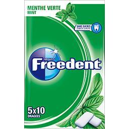 Chewing-gum menthe verte sans sucres