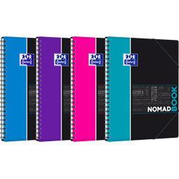 Oxford Oxford Cahier Nomadbook étudiants A4 90 g Seyes coloris assortis le cahier de 160 pages