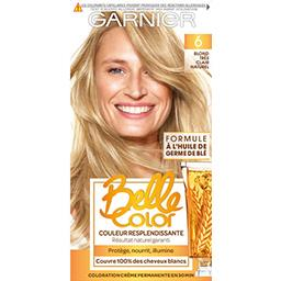 Belle Color Blond clair naturel, Coloration permanen...