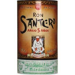 Rhum Cubain Ron Santero 5 ans d'âge