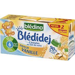 Blédidej - Céréales au lait de suite saveur vanille, dès 6 mois