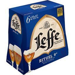 Bière belge blonde Rituel 9°