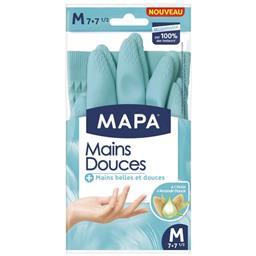 Gants mains douces taille M 7-7 1/2 à l'huile d'aman...