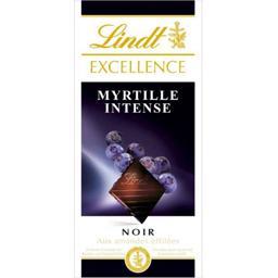 Excellence - Chocolat noir myrtille intense aux amandes effilées