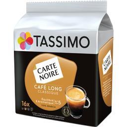 Carte Noire - Capsules de café long classique