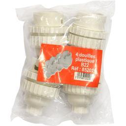 Douilles plastique B22 Réf : 852029