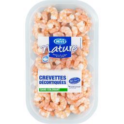 Crevettes décortiquées cuites nature