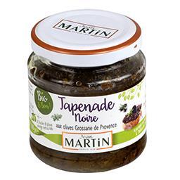 Tapenade noire aux olives Grossane de Provence BIO