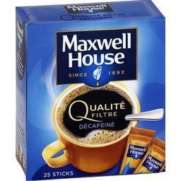Qualité Filtre - Sticks de café décaféiné