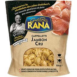 Giovanni Rana Rana Cappelletti jambon cru le paquet de 250 g