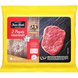 Pavés marinés de bœuf aux poivres