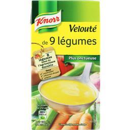 Knorr Knorr Velouté de 9 légumes la brique de 0,5 l