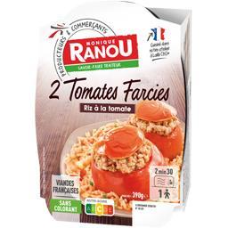 Tomates farcies riz à la tomate