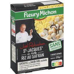 & Joël Robuchon - St-Jacques au Noilly riz au safran